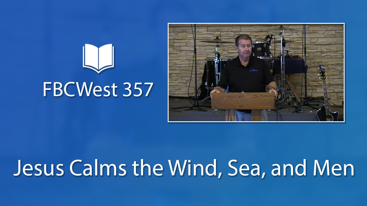 Jesus Calms the Wind, Sea, and Men | Poster