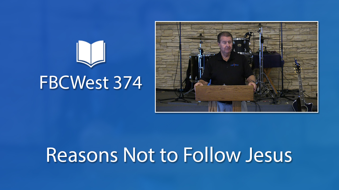Reasons Not to Follow Jesus | Poster